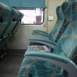 初めてのAC列車。もうSLなんて二度と乗りたくない・・・(デリー→リシケシ移動方法)