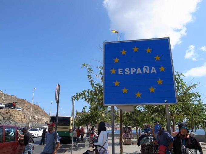 シャウエン→バレンシアへの24時間移動!アフリカ大陸にもスペインはあるんだねー