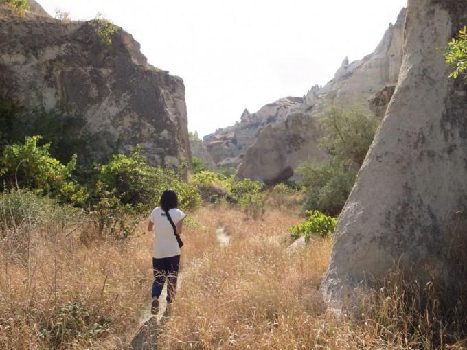 カッパドキア ハイキング